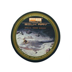 Лидкор без сердечника PB Products Silk Ray Unleaded Leader 10m 65lb Silt