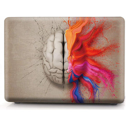 Чехол для Apple MacBook Pro 13 A1706, A1708 (i-Blason Cover Water Color Brain)
