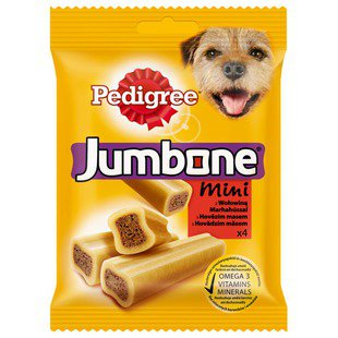Лакомство для собак Pedigree Jumbone Mini говядина