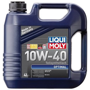 LIQUI MOLY Optimal 10W-40 4 л