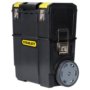 Ящик-тележка STANLEY Mobile Work Center 2 в 1 1-70-327 57 х 47.5 x 28.4 см