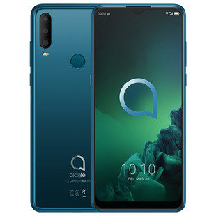 Alcatel 3X (2019) 5048Y DS 4/64GB (зеленый)
